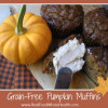 Thumbnail image for Grain Free, Gluten Free Pumpkin Spice Muffins with Cinnamon Cream Cheese Spread