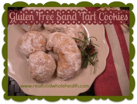 Gluten Free Sand Tarts- almond shortbread
