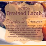 Braised Lamb with Herbes de Provence