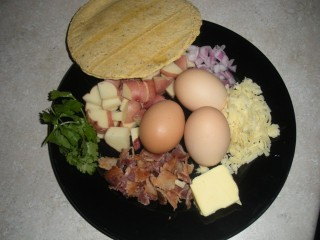 Breakfast Tacos- Mexican style (gluten-free) -
