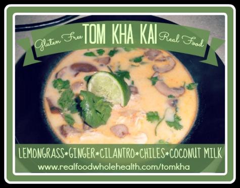 Tom Kha Kai (Thai coconut milk soup)