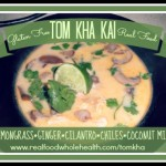 Tom Kha Kai (Thai coconut milk soup)