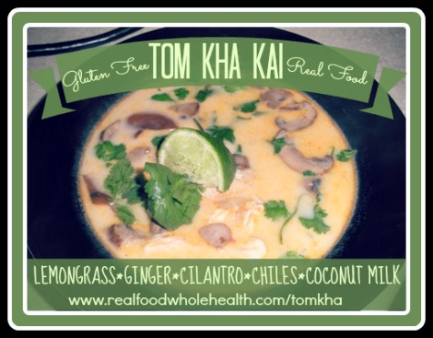 Gluten Free Homemade Tom Kha Kai  Thai Coconut Milk Soup