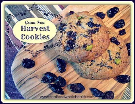 Harvest Cookies (gluten-free!)