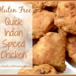 Quick Indian Spiced Chicken