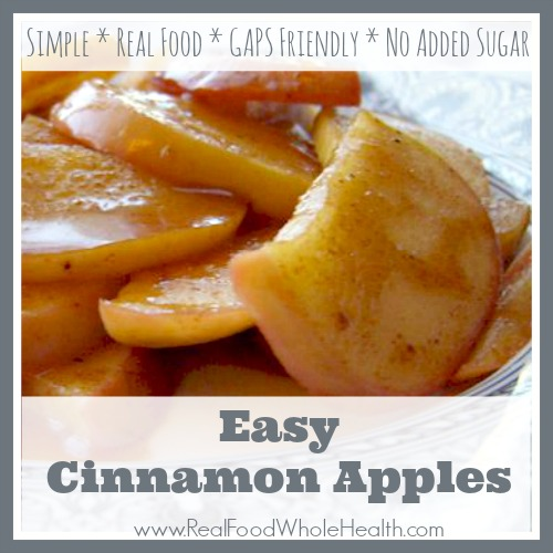 Easy Cinnamon Apples