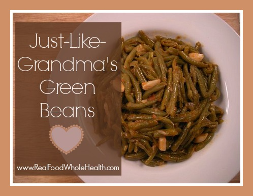 Just Like Grandma's Green Beans- you've gotta try this comfort food!
