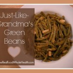 Delicious and easy green bean recipe