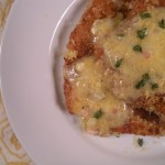 Gluten-Free Chicken Paillard with Lemon Cream Sauce or Herbed Garlic Butter