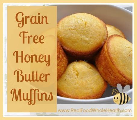 Grain Free Honey Butter Muffins