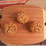 Gluten-Free, Grain-Free Spiced Carrot Muffins