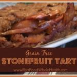 Grain-Free, Gluten-Free Stonefruit Tart