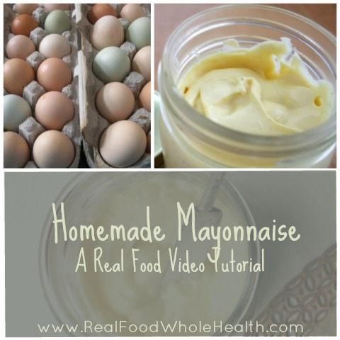 Video- How to Make Homemade Mayonnaise (and Creamy Salad Dressing)