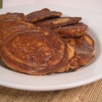 Grain Free, Gluten-Free Cinnamon Apple Pancakes