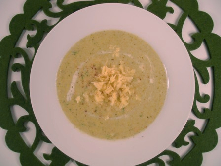 Post image for Gluten-Free Broccoli Cheese Soup
