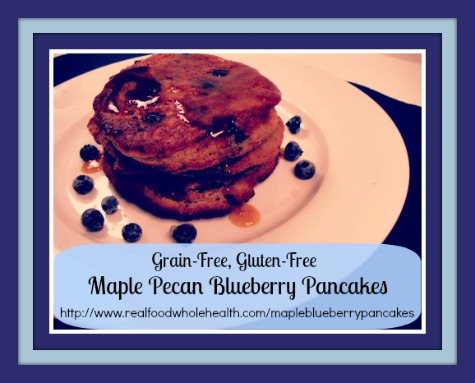 Whole-Grain Pancake Recipe With Blueberry Maple Syrup Recipes ...