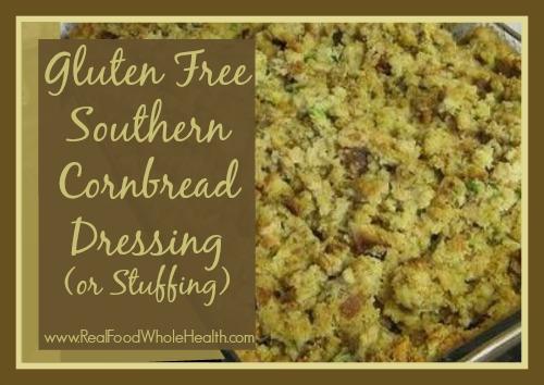 Gluten Free Cornbread Dressing or Stuffing
