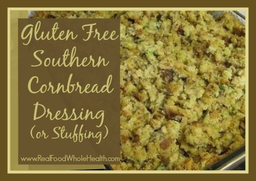 Gluten Free Southern Cornbread Dressing or Stuffing