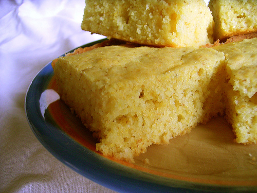 Gluten Free Cornbread Recipes- Basic, Honey and Southwestern -
