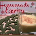Raw Egg Nog- Real Food Style!