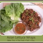 Gluten Free Asian Lettuce Wraps