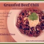 Grassfed Beef Chili- Gluten Free