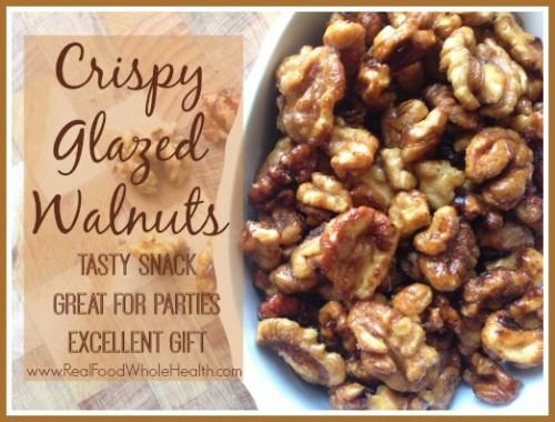 Crispy Glazed Walnuts
