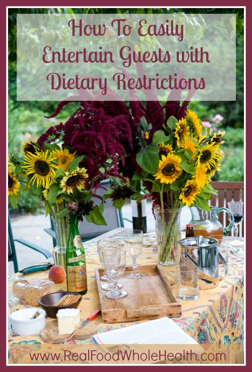 How to Entertain Guests with Dietary Restrictions