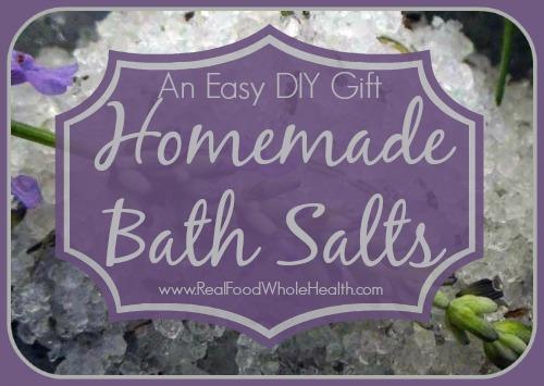 Easy DIY Bath Salts