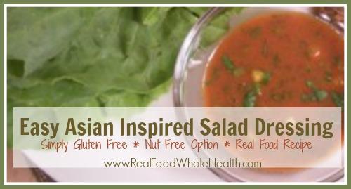 Easy Asian Inspired Salad Dressing
