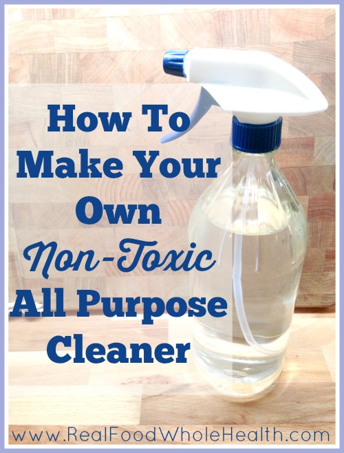 How to Make a Non-Toxic All-Purpose Cleaner