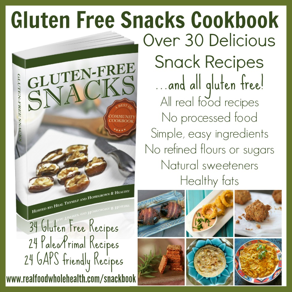 Gluten free snacks community cookbook real food whole health gf snacks forumfinder Image collections