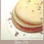 Gluten Free Lemon Lavender Shortbread Cookies