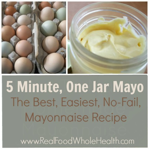 Five Minute, One Jar Mayonnaise Recipe