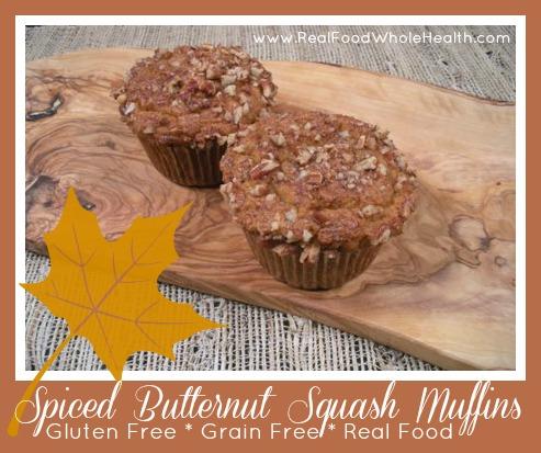 Gluten Free Spiced Butternut Squash Muffins