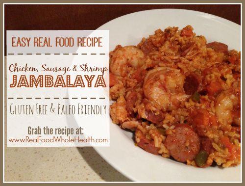 A Real Food Recipe for Jambalaya