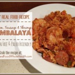 A Real Food Recipe for Jambalaya