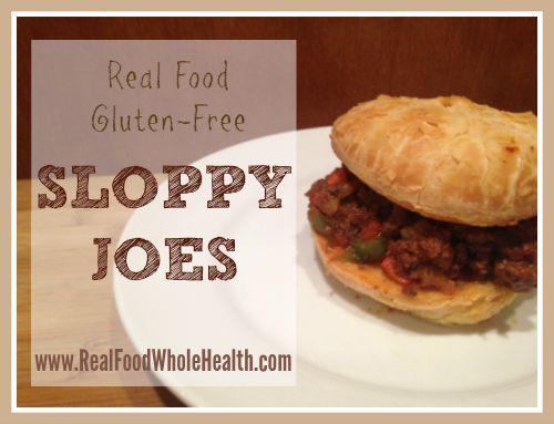 Real Food Sloppy Joes Recipe (Gluten Free)
