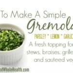 How to Make a Simple Gremolata