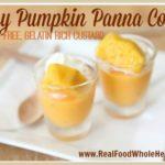 Easy Pumpkin Panna Cotta