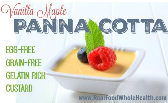 Vanilla Maple Panna Cotta