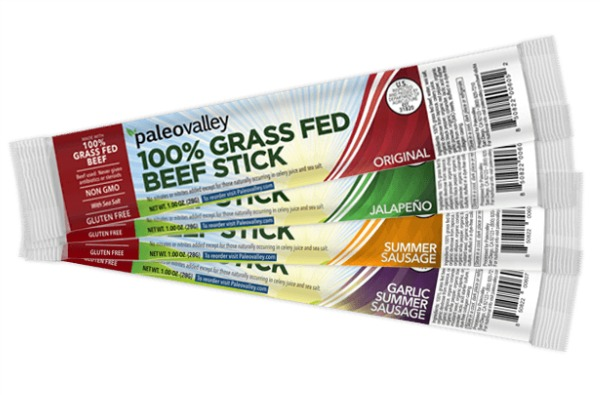 PaleoValley Grassfed Beef Sticks